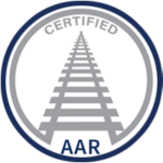 Narrowtex AAR certified badge