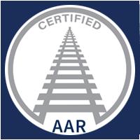 Narrowtex AAR certified badge