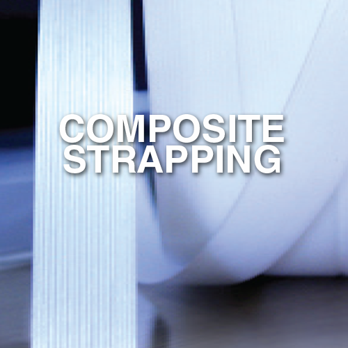 Narrowtex composite or cord strapping
