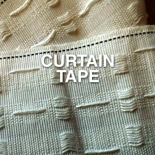 Narrowtex curtain tape