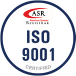 Narrowtex ISO 9001 certified badge