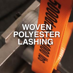 Narrowtex Woven Polyester Lashing