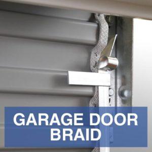 NBI Garage door braid
