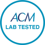 ACM LAB TESTED STAMP