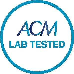 ACM LAB TESTED STAMP