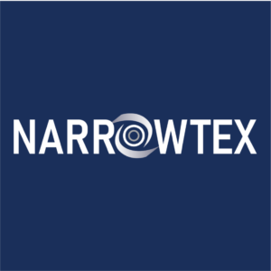 Narrowtex white logo