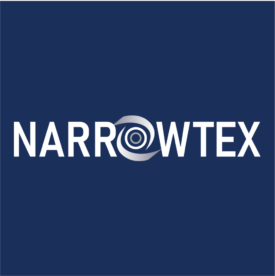 Narrowtex white logo