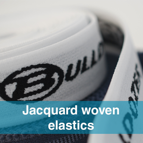 ACM JACQUARD WOVEN ELASTICS