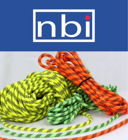 NBI logo and access rope image
