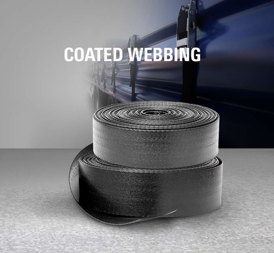 PVC coated webbing