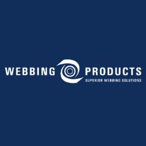 Webbing Products White logo