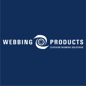Webbing Products White logo