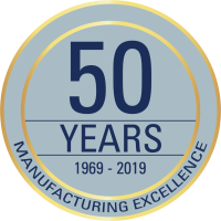 Narrowtex 50 year anniversary badge